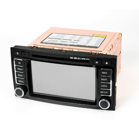FlyAudio Gold D8034Navi - Мультимедийный навигационный центр для Volkswagen Touareg Превью 2