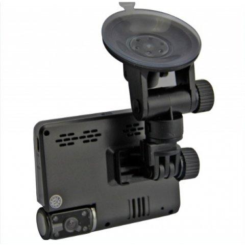 Двухканальный видеорегистратор с монитором Globex GU-DVV003 Превью 3