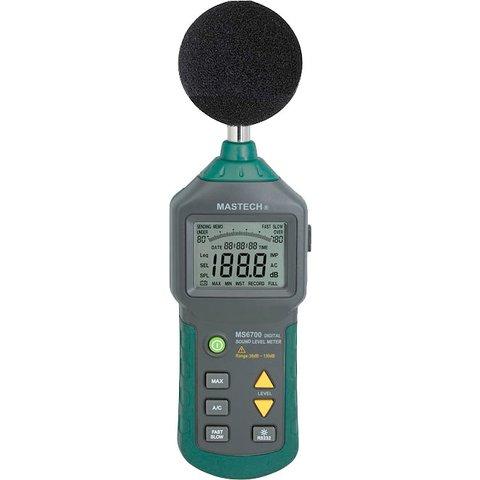 Измеритель силы звука MASTECH MS6700 Превью 1