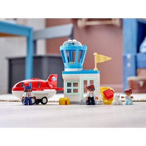 Конструктор LEGO DUPLO Самолет и аэропорт 10961 Превью 12