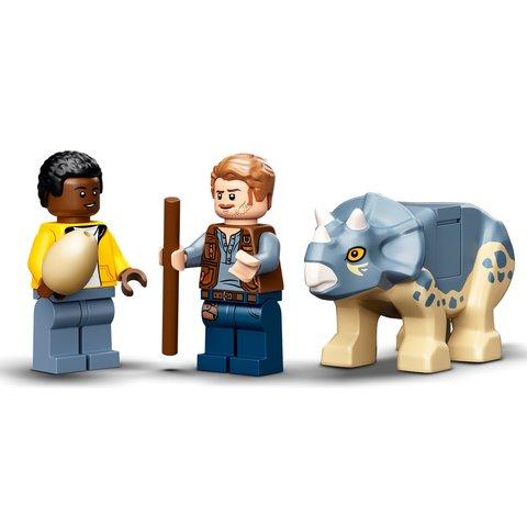 Конструктор LEGO Jurassic World Виставковий скелет тиранозавра 76940 Прев'ю 4