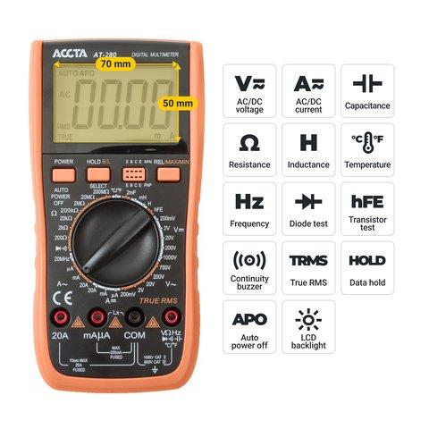 Digital Multimeter Accta AT-280 Preview 2